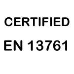 CERTIFIED EN13761