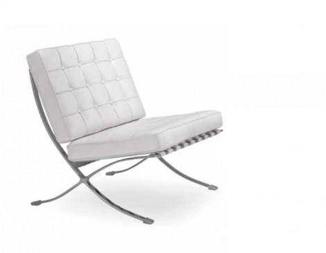 Poltrona Design Barça white